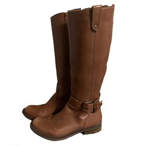 Steve Madden Leather Boots - Women's Size 7.5